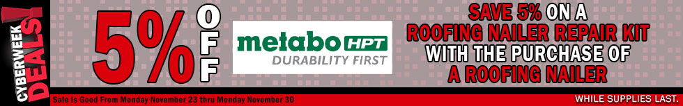 Metabo HPT Black Friday