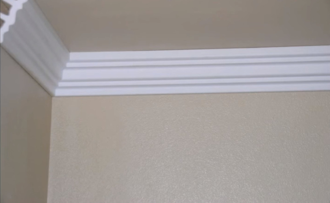 how to cut foam crown molding