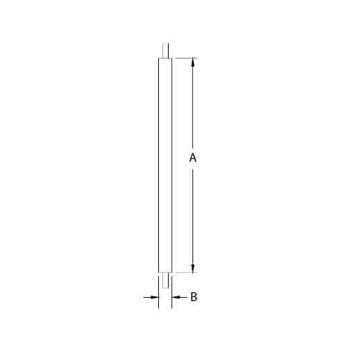 Fypon polyurethane square baluster from for Fypon balustrade