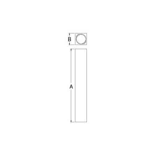 Fypon polyurethane stone newel post from for Fypon railing