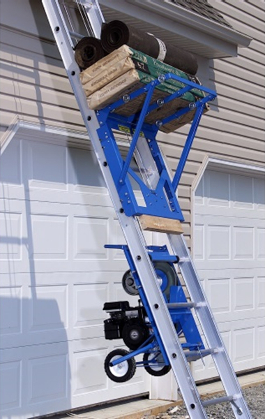 Safety Hoist Hd400 400lb Steel Based Ladder Hoist From