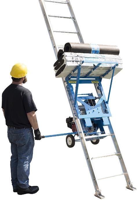 Safety Hoist Hd400 400lb Steel Based Ladder Hoist From