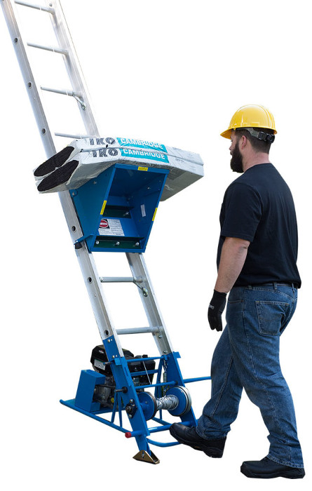 Safety Hoist Ch200 200lb Ladder Hoist From Buymbs Com