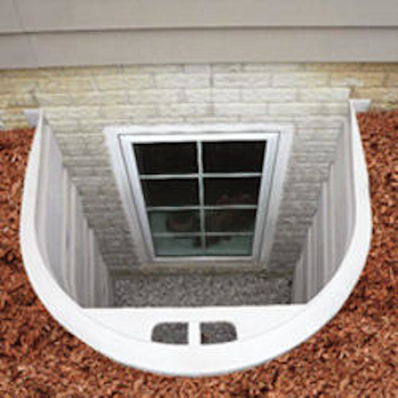 Wellcraft 5600 Series Modular Window Well Section From