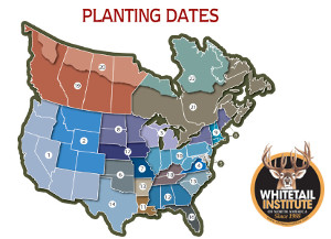 Whitetail Institute Spring/Fall Regional Planting Maps