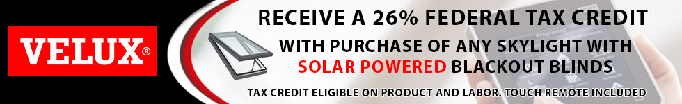Velux Energy Performance Tax Credit