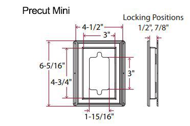 Mid-America Vinyl MountMaster Mini Mounting Blocks from BuyMBS com