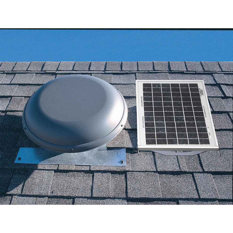 Roof Air Vents For Houses : Air vent roof mount solar attic cfm from buymbs