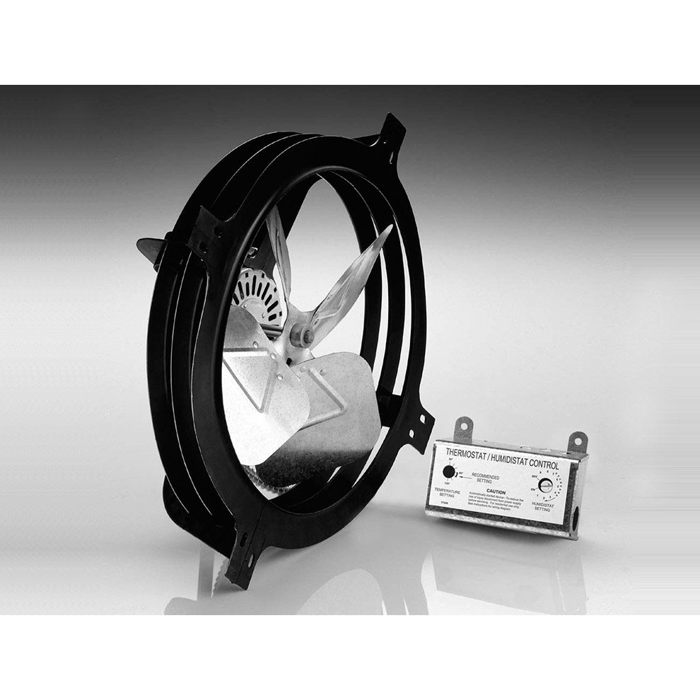 Air Vent Gable Mounted Power Fan Ebay