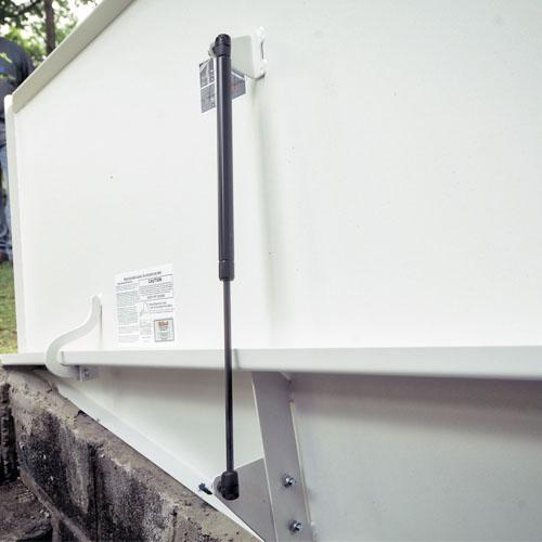 Bilco Classic Series Powder Coated Basement Door From