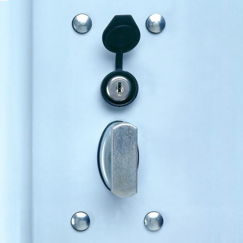 bilco door lock