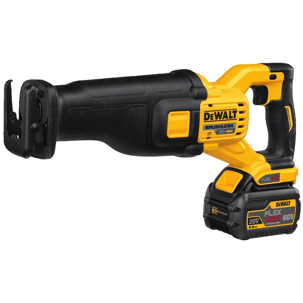 DeWalt FlexVolt 60V MAX Brushless Reciprocating Saw from BuyMBS com
