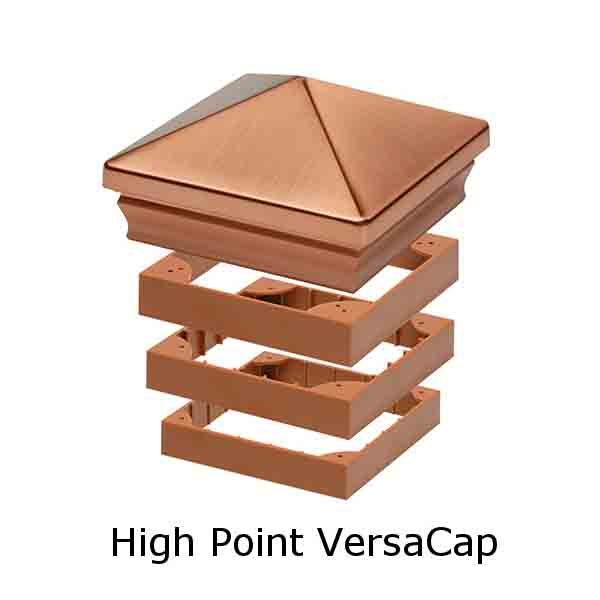 VersaCap Post Caps Decorative
