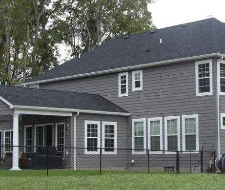 The foundry 10in vinyl weathered staggered shake 1 square for What is 1 square of vinyl siding