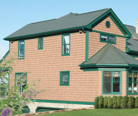 The Foundry 7in Vinyl Perfection Shingles 1 Square