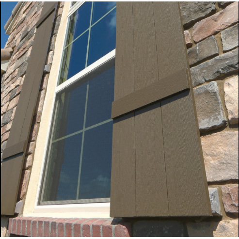 Fypon polyurethane timber board shutter from for Fypon exterior shutters
