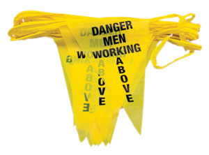 Roof Zone Safety Warning Line Stanchions
