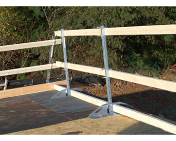 Roof Zone Rake Edge Guardrail From Buymbs Com