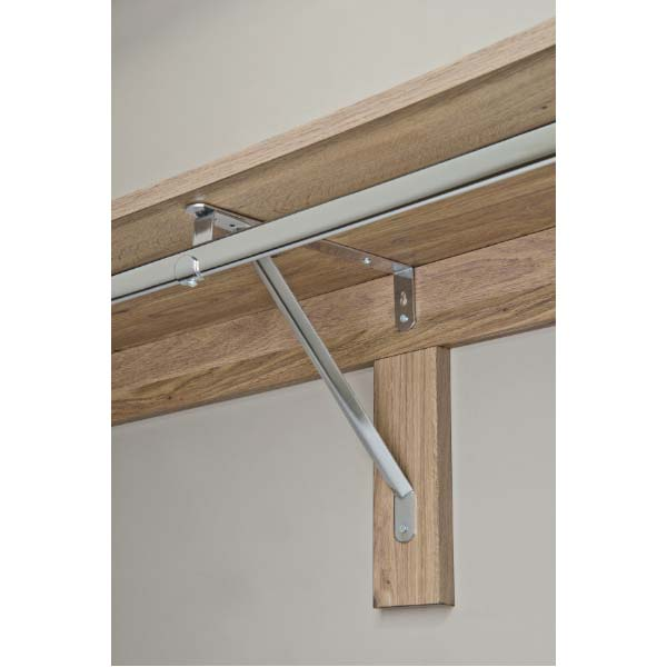Woodtrac by sauderr single hang closets up to 8 feet for Woodtrac closets