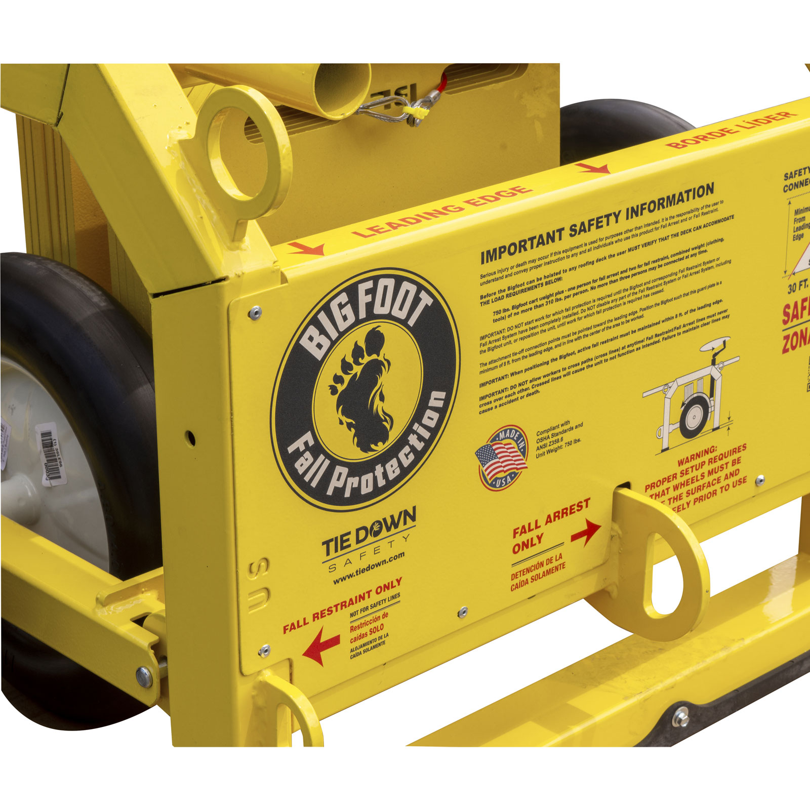 Tie Down Big Foot Mobile Fall Protection