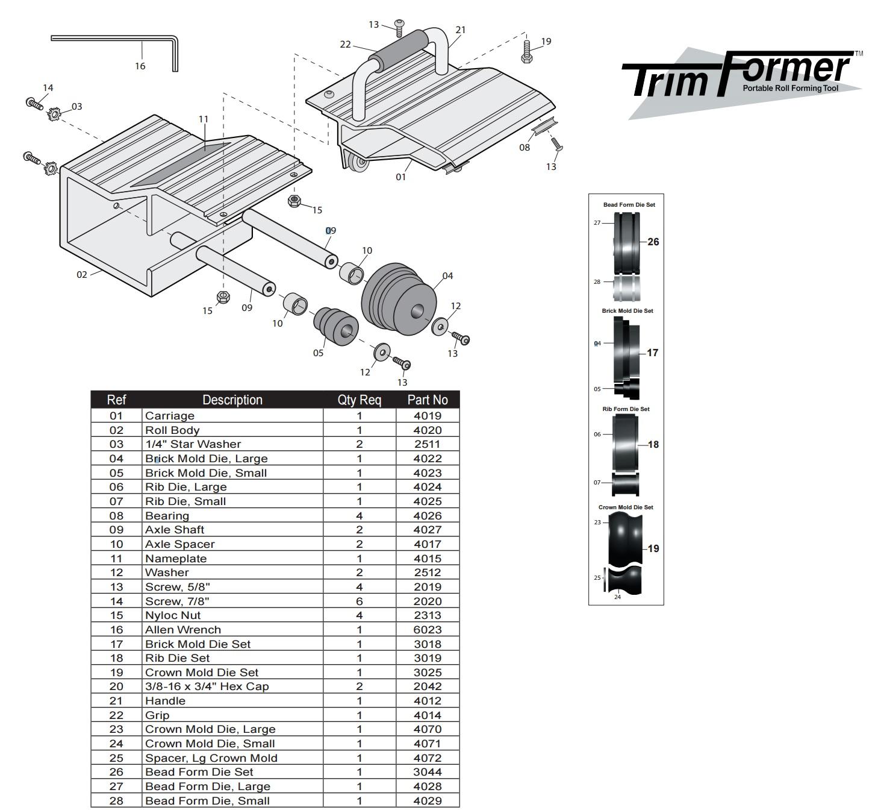 van mark trimformer parts from buymbs com