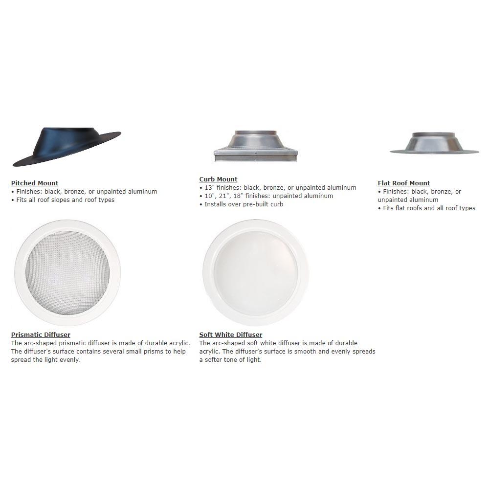 Natural Light Tubular Skylight Kit