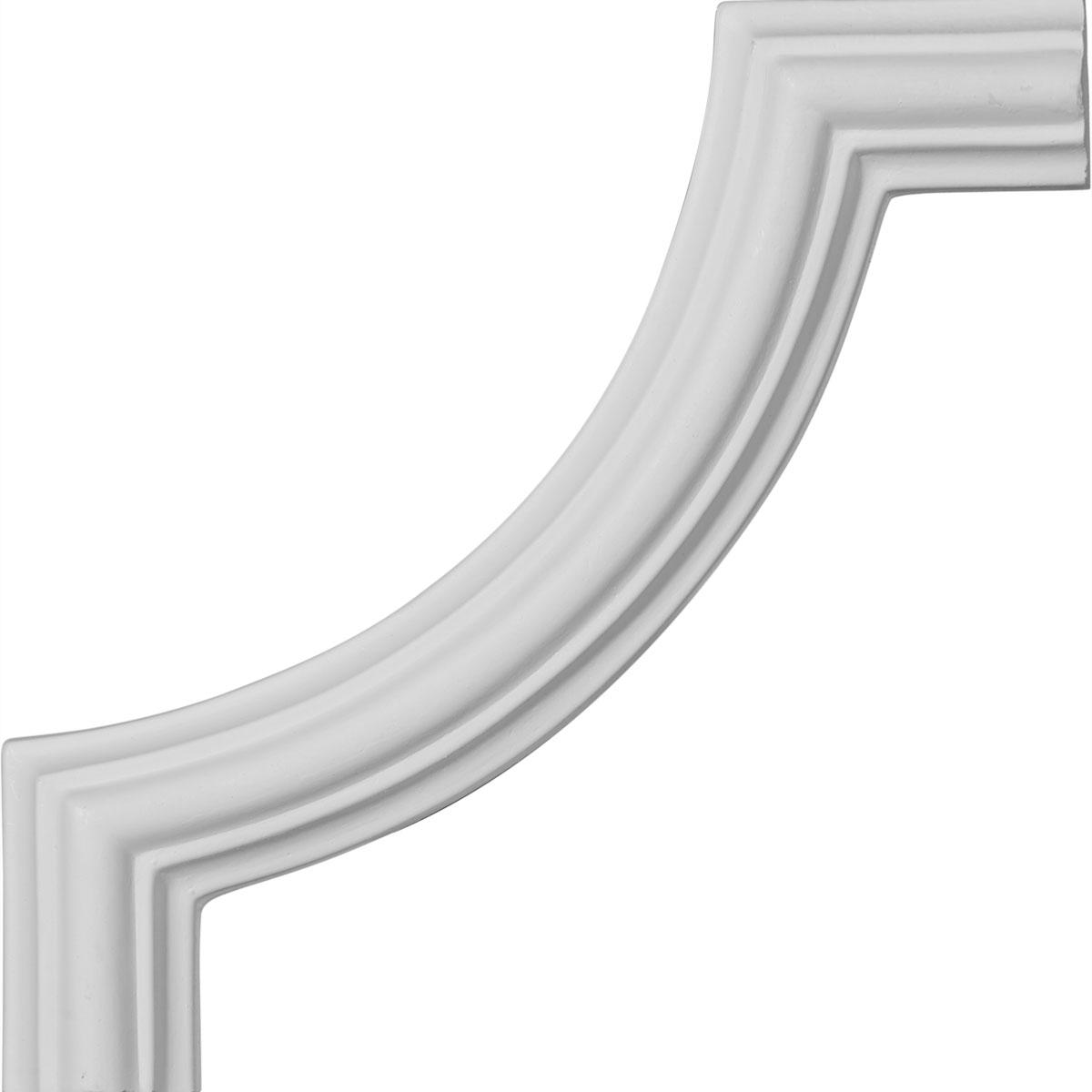 Ekena Millwork Polyurethane Panel Moulding Corner 3in