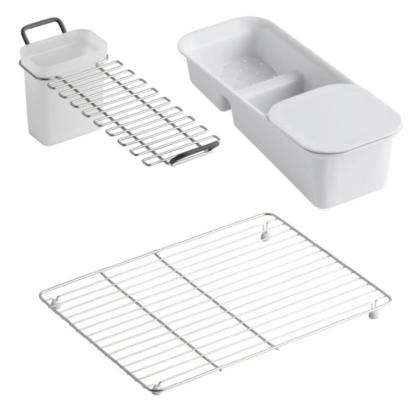 Kohler Riverby Cast Iron Sink Accessories