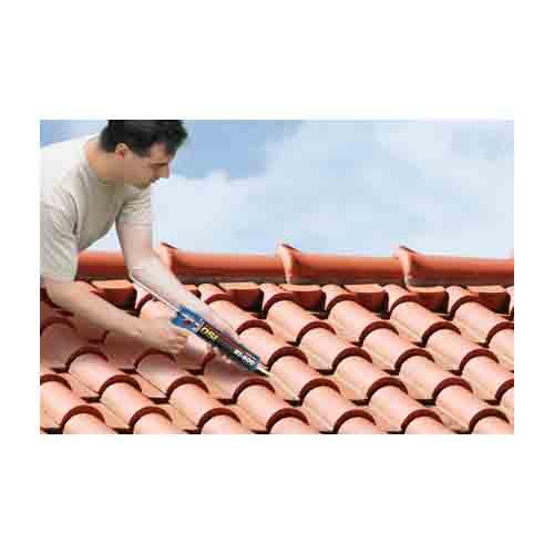 Tile Repair Adhesive In Action