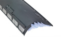 modernbuilderssupply.com:  Air Vent Hip Ridge Vent Model 84742 Black 4' Pieces