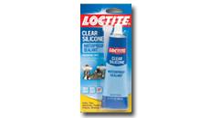 Loctite Clear Silicone Waterproof Sealant