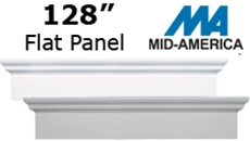 "Mid-America 128""  Flat Panel 9"" Window Header"