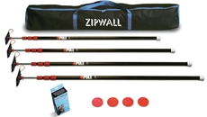 ZipPoll 4 Pack from ZipWall