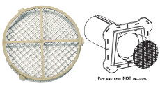 Mid America Wire Screen For 4in. Hooded Vent