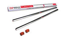 ZipWall FR2 Foam Rails, 2-Pack