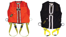Guardian Fall Protection Mesh Construction Tux Harness - Black