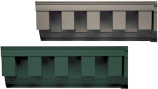 Mid America Square Tooth Dentil Trim