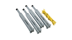 Roof Zone Metal Roof Folding Warning Line 4 Stanchions