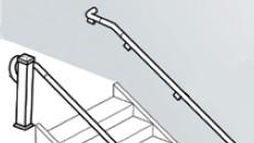 Fypon grab rail handrail system from for Fypon railing