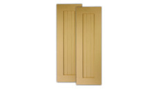 Fypon Polyurethane Timber Board Shutter with Border