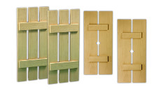 Fypon Polyurethane Timber Plank Shutters