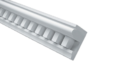 Fypon Polyurethane Dentil Crown Moulding