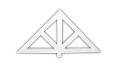 Modern builders supply inc fypon for Fypon gable pediments
