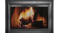 Thermo-Rite Celebrity Fine Textured Black Fireplace Door