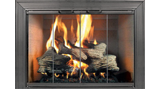 Thermo-Rite Décor Anodized Aluminum Fireplace Door