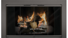 Thermo-Rite Reserve Painted Aluminum Fireplace Door