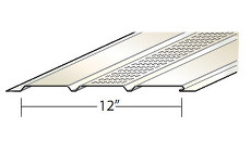 Quality Aluminum CVPT4 12 in. Triple 4 Soffit Center Vent