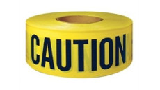 C & R Yellow Caution Tape