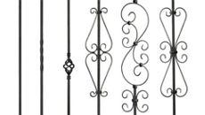Carolina Stair Supply Ole Iron Slide Balusters