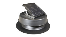 Natural Light Solar Attic Fan System